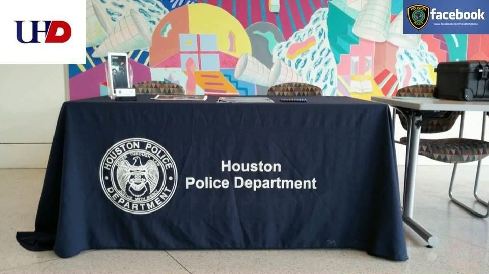 HPD at University of Houston Downtown Houston police