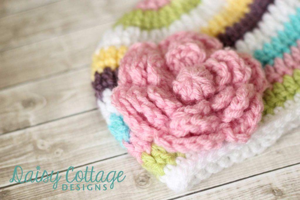 Flower Crochet Pattern Free   Cuerda y Gorros