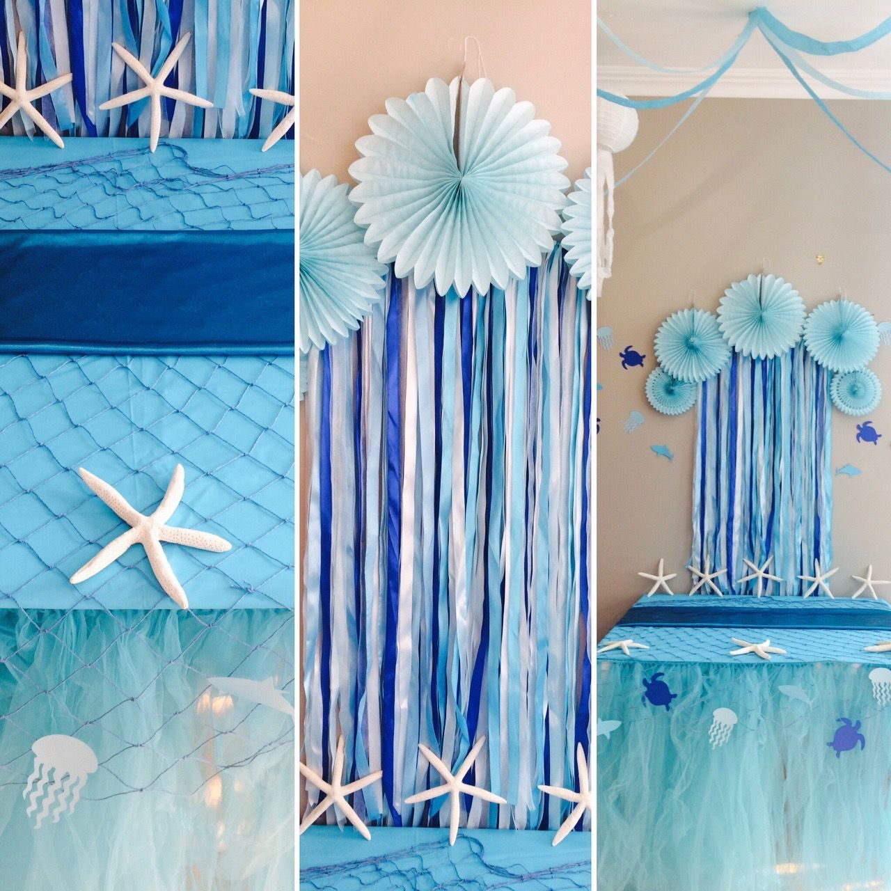 Under The Sea Party Box With Images Under The Sea Party Sea