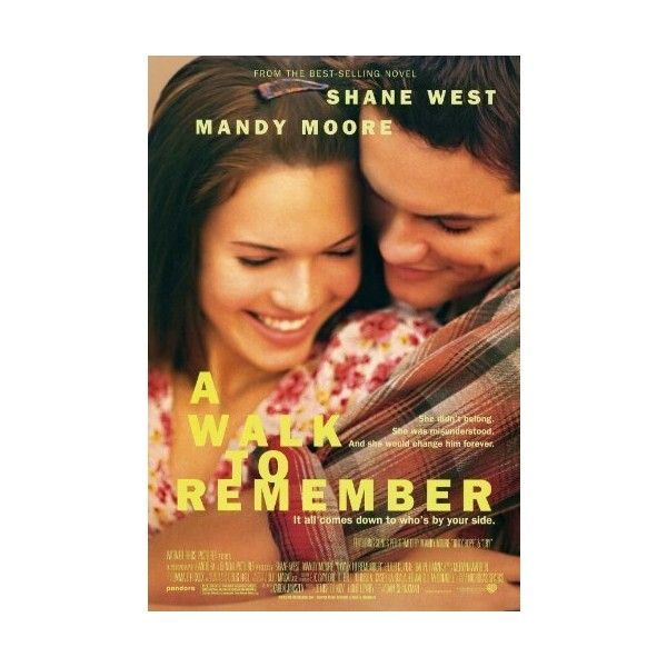 Amazon.com: A Walk to Remember 11 x 17 Movie Poster - Style A: Home &... ($7.50) via Polyvore