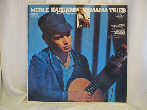 Merle Haggard and the Strangers Mama Tried Record LP Album | Geeshy ...
