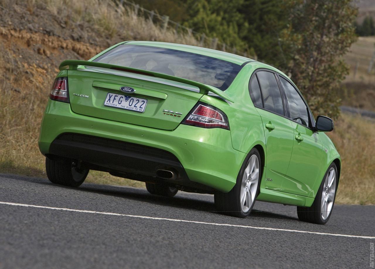 2008 Ford Fg Falcon Xr6 Turbo Ford Falcon Australia Ford Super