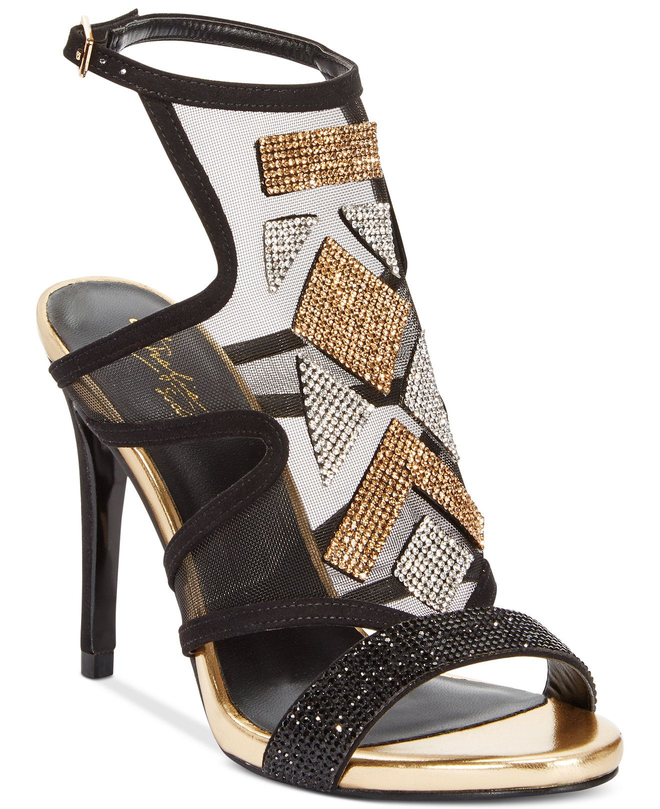 Black sandals at macy's