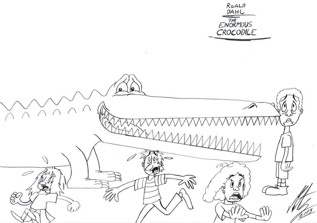 Roald Dahl Enormous Crocodile Roald Dahl Roald Dahl Day Dahl