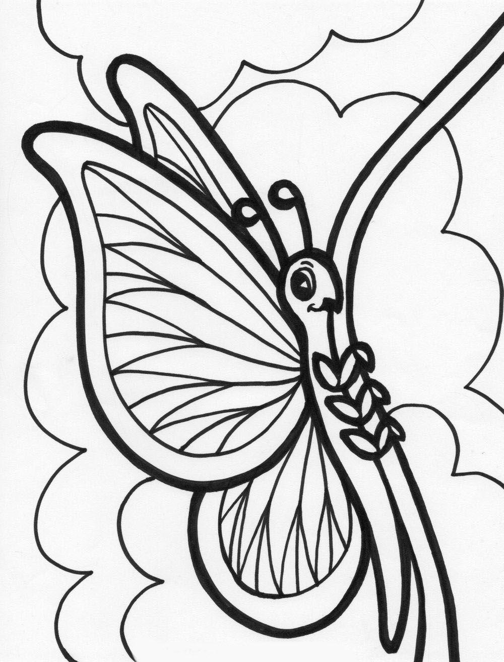 Juegos De Colorear A Mariposas