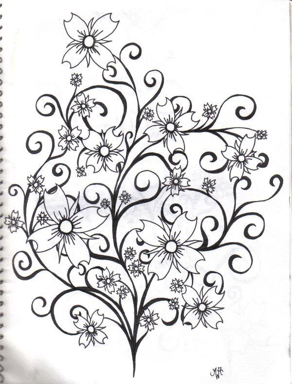 Pin By Jennifer Peters On Tattoos Cherry Blossom Tattoo Drawings Tribal Tattoo Designs