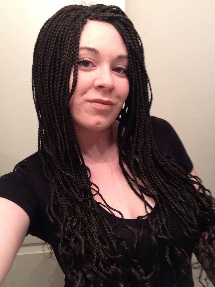 White Girl Braids Microbraids Micro Braids Box Braids Poetic Justice