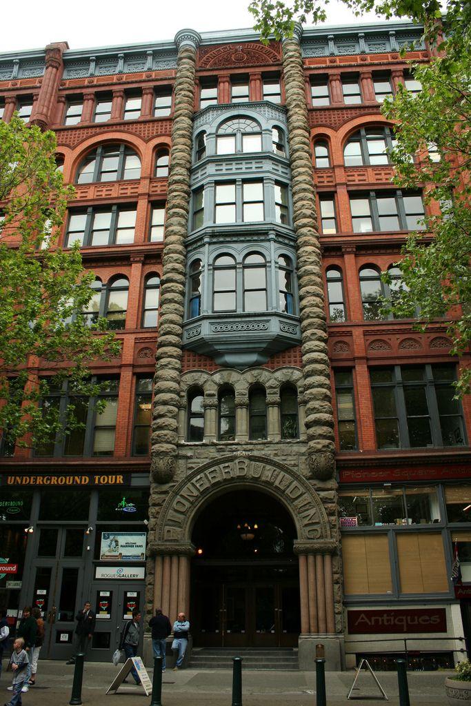 Pioneer Building Square Seattle Wa