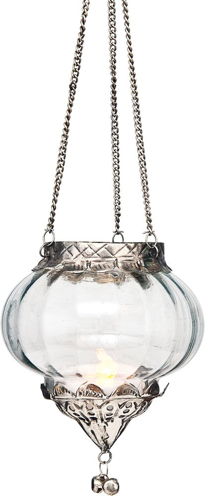 Temara Design Hanging Glass Moroccan Lantern 3 5 X 4 Inches Plus Chains For Home Decor And We Hanging Candle Lanterns Candle Lanterns Lantern Candle Decor