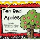 "This is a cute and colorful version of the well known poem, ""Ten Red Apples Growing on a Tree"".  Included in this package are a teacher copy of the..."