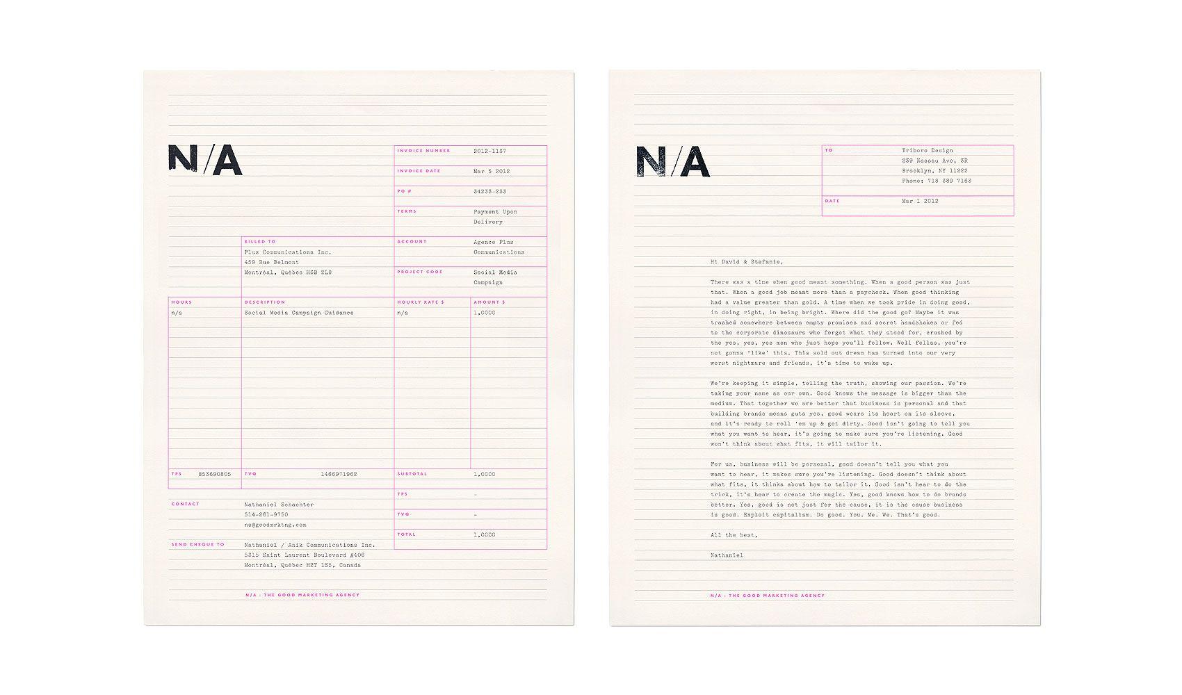 Triboro Identity Graphic Design Print Branding Design