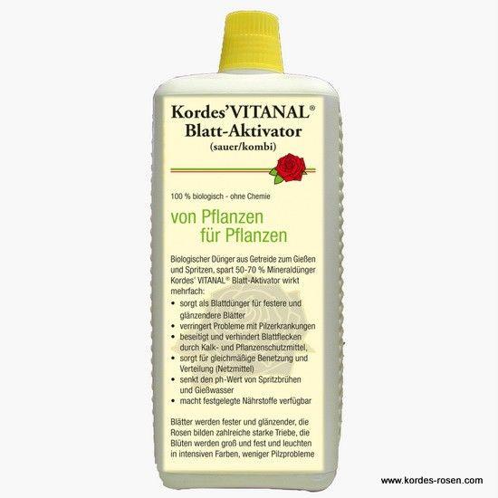 kordes rosen kordes' vitanal® blatt-aktivator (sauer / kombi) die, Garten und erstellen