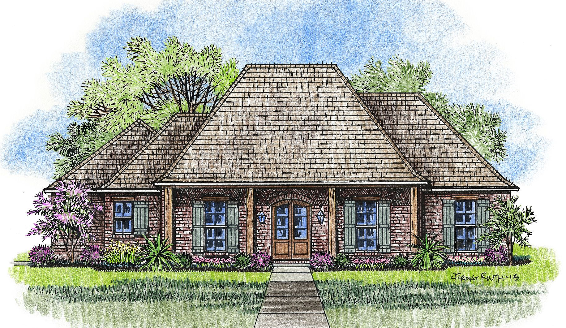 Madden Home Design - The Elmwood