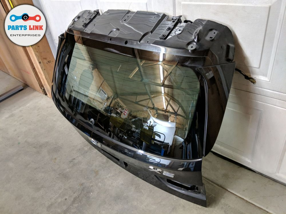2014 2018 Bmw X5 50i Xdrive F15 Rear Trunk Liftgate Tailgate Hatch W Glass Oem Parts And Accessories Bmw X5 Tailgate