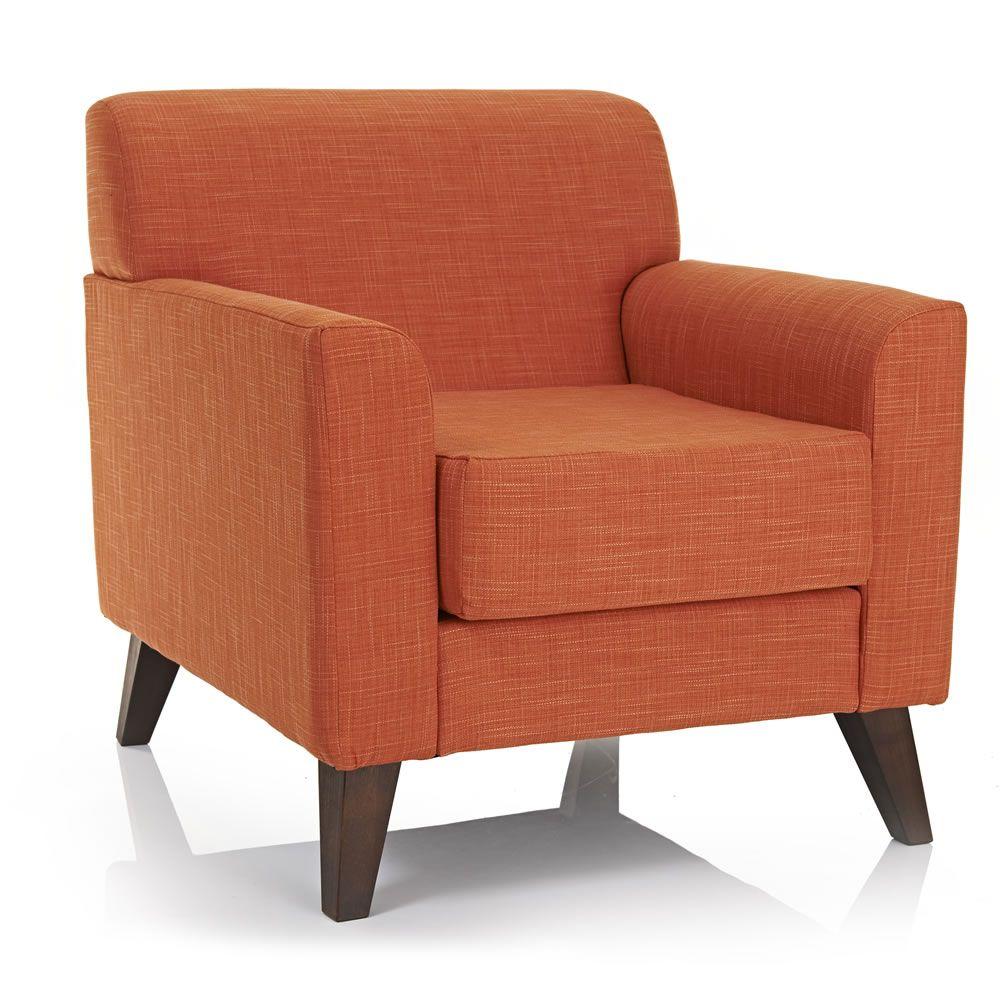 Wilko Wentworth Armchair Burnt Orange