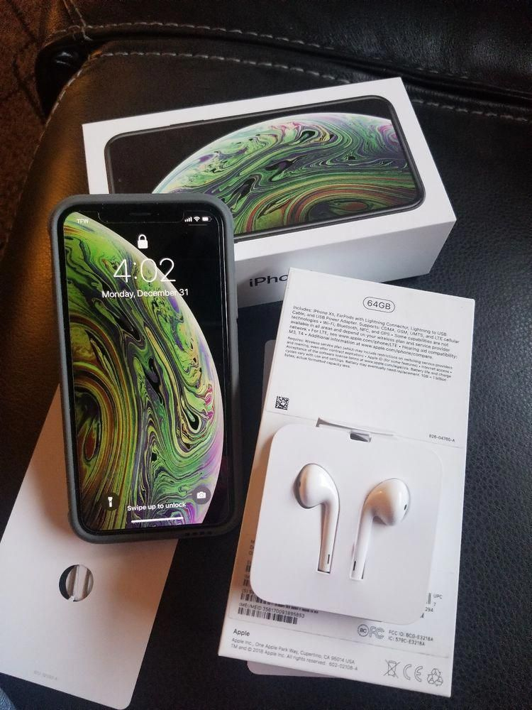 Apple iPhone XS 64GB Space Gray Flawless cond. (Sprint
