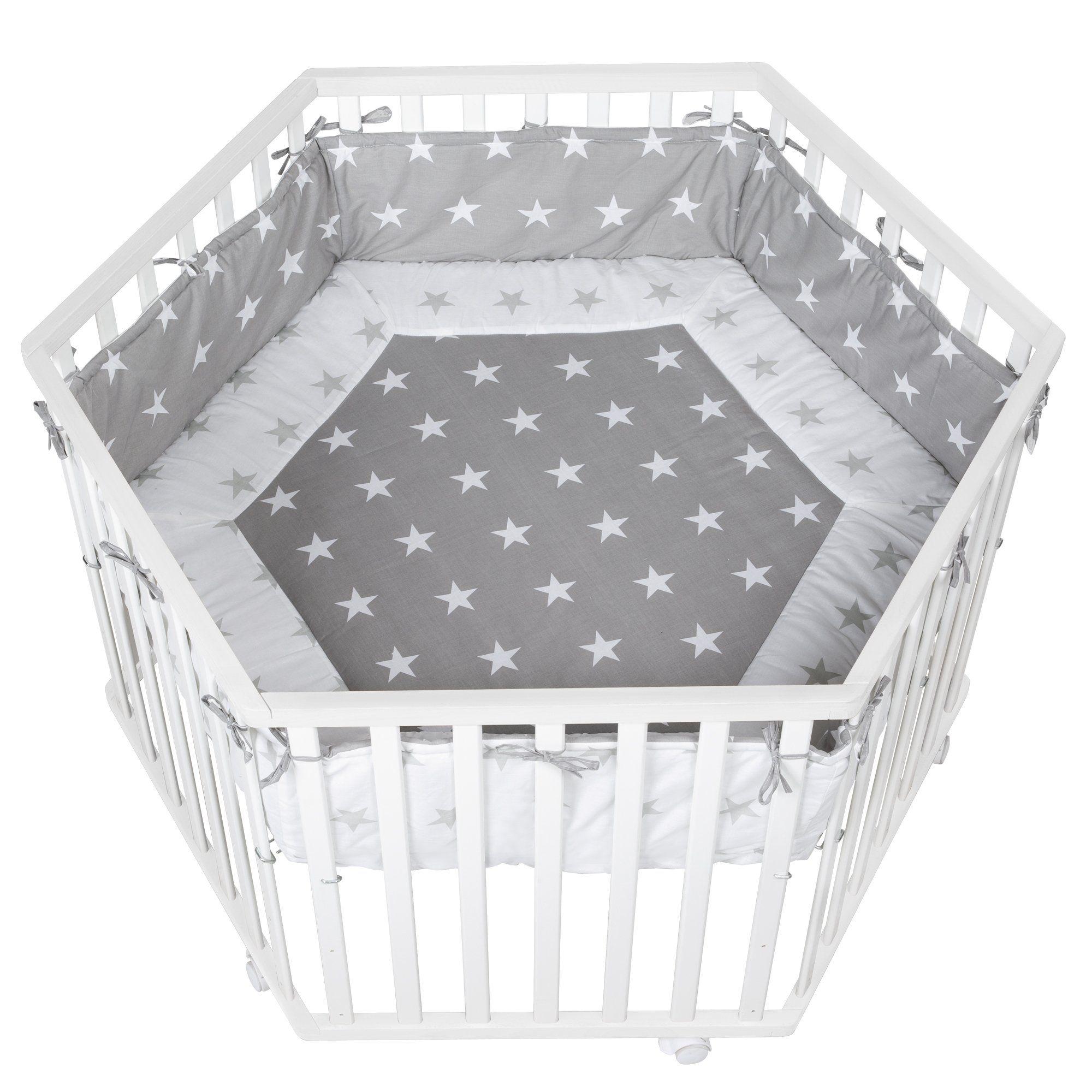 Roba Kids Cosiplay Park Hexagonal Plastic Laundry Basket Home