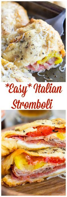 Photo of Super Bowl Italian Stromboli Recipe – The Gold Lining Girl