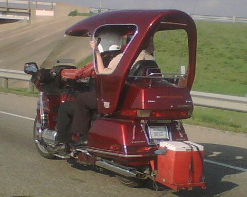 Motorcycle With A Roof Custom Motorcycles Honda And