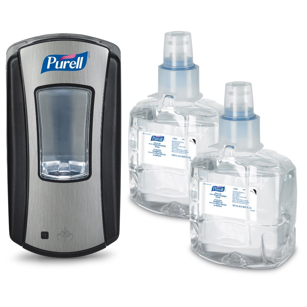 Purell Starter Kit Black Hand Sanitizer Hand Sanitizer Hand