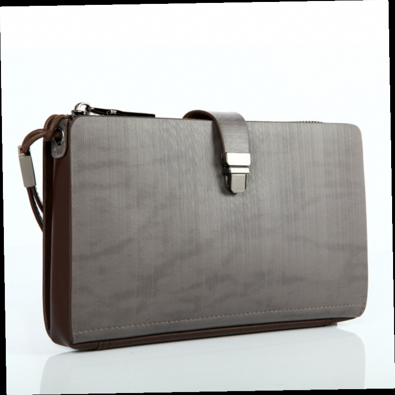 51.00$  Watch here - http://ali670.worldwells.pw/go.php?t=32779834188 - Business Leisure Top Quality Male Clutch Bag NEW Trendy Zipper Bag Men Cowhide Long Wallet Genuine Leather Designer Casual Purse 51.00$