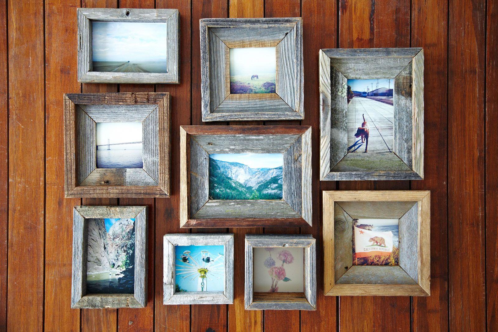 Reclaimed Wood Frames Www Thealibiinteriors Com Photo By