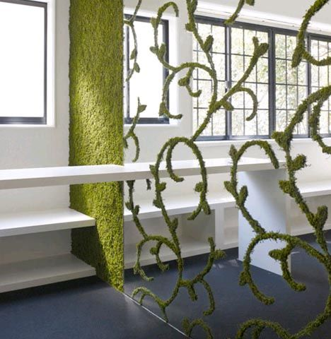 Moss Wall Divider Thinking About My Lady S Parlour And Mary S Conversations With George London Creating The Closet And Details Of Mary S Specifications