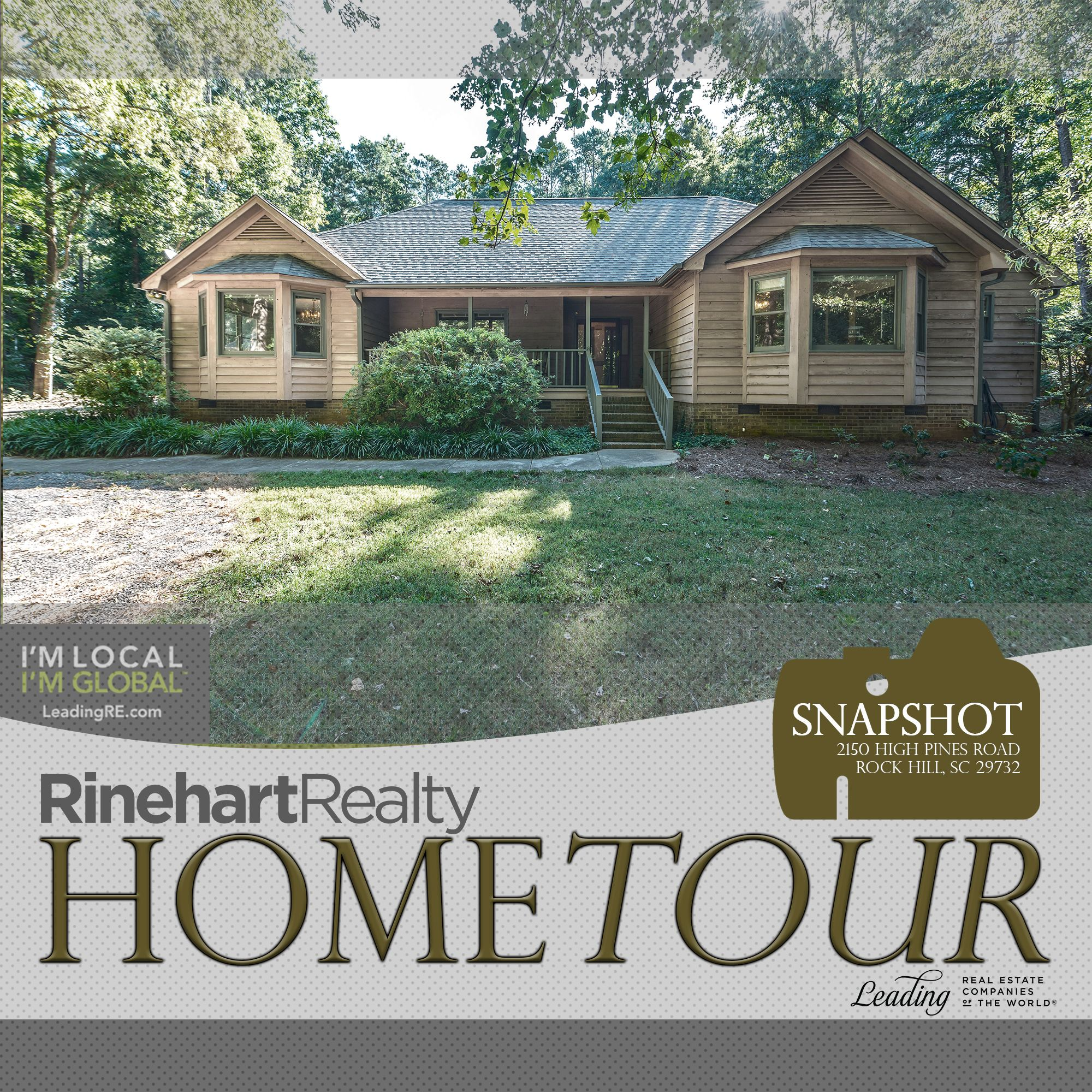 2150 High Pines Road Rock Hill Sc 29732 3208076 Rinehart Realty Rock Hill House Tours House Styles