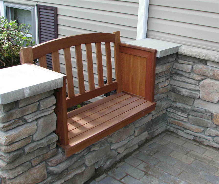 Surprising Mahogany Bench Custom Built With Mahogany This Built In Ocoug Best Dining Table And Chair Ideas Images Ocougorg