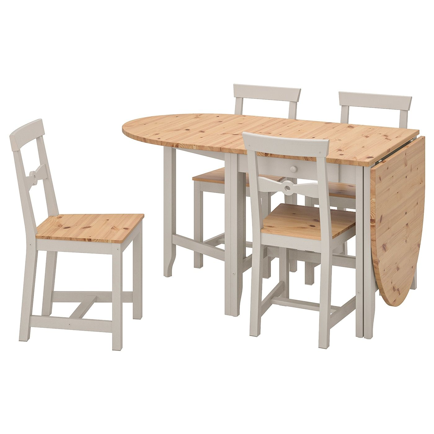 16++ Solid pine dining table and 4 chairs Trend