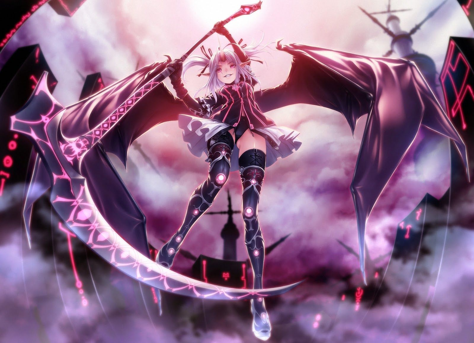 anime girl with dragon wings - Google Search | Trumpet ...