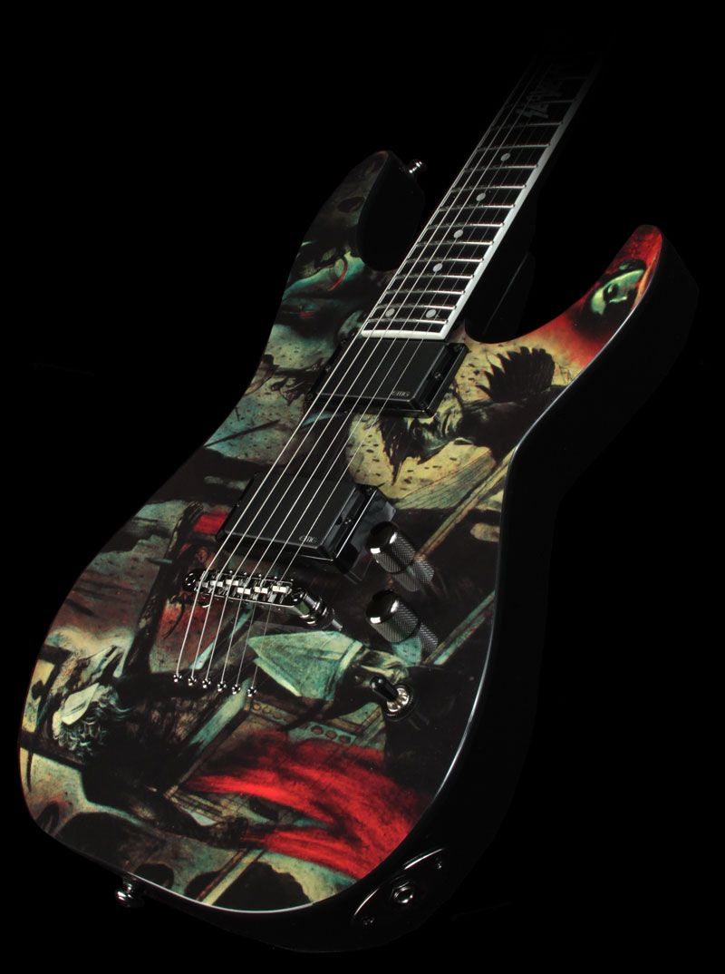 Slayer - Reign in Blood - Tribute Guitar by ESP