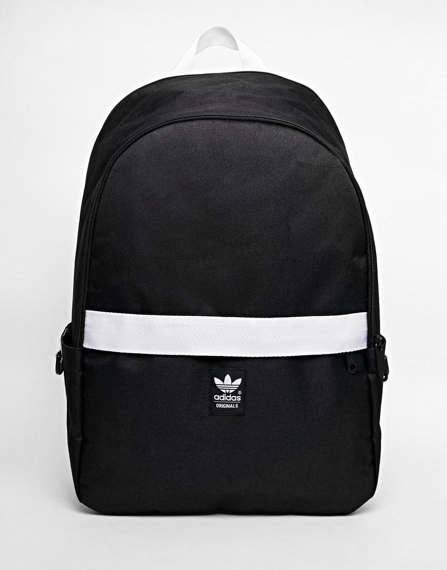 image 1 of adidas originals backpack with contrast zip. Black Bedroom Furniture Sets. Home Design Ideas