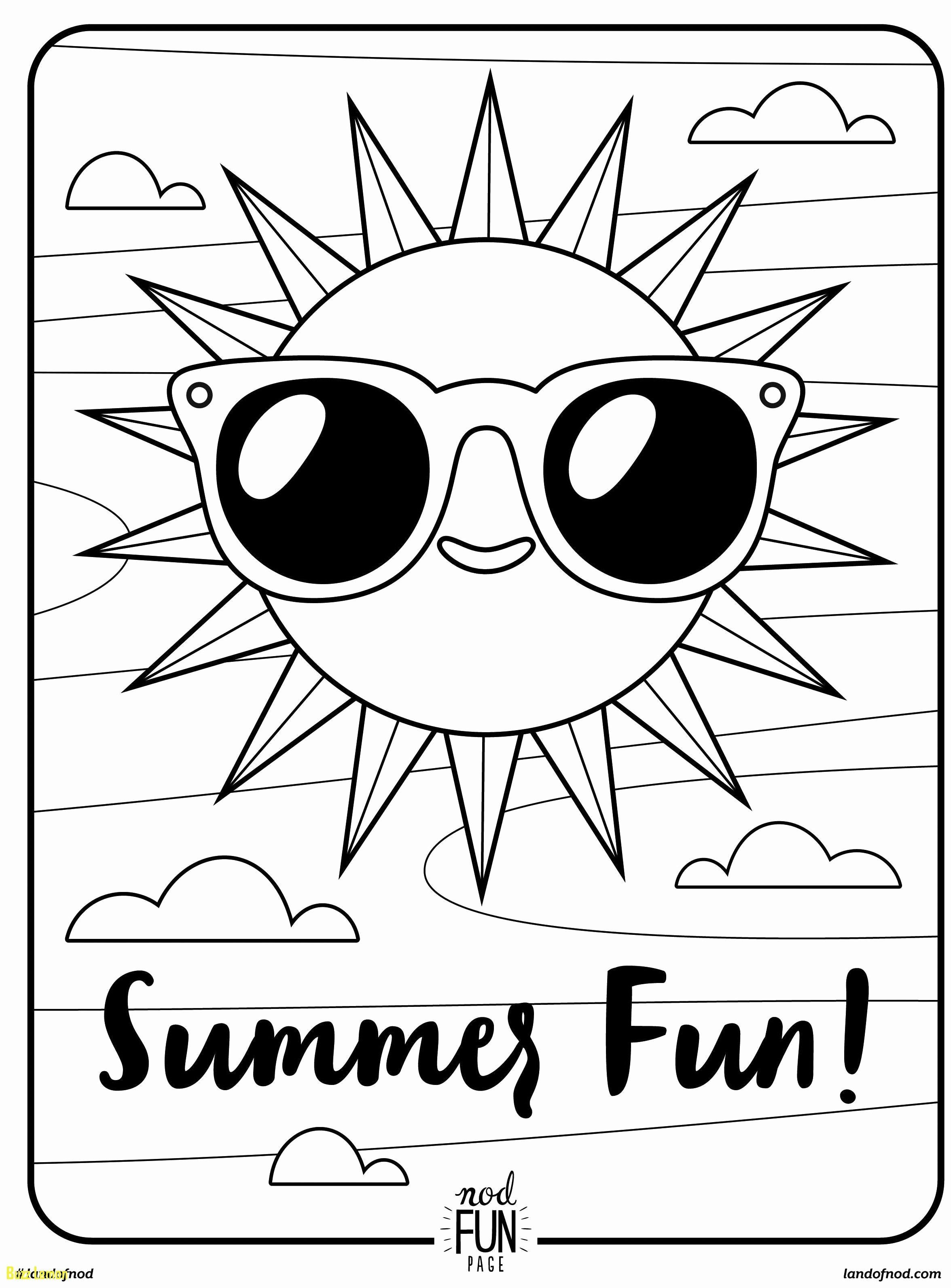 14+ Cute summer coloring pages printable ideas