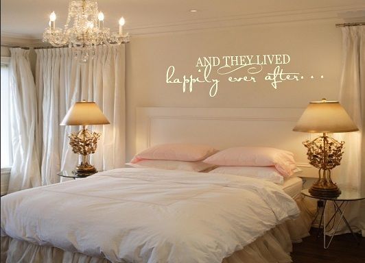 Bedroom Luxury Wall Sayings For Smart Decor Ideas