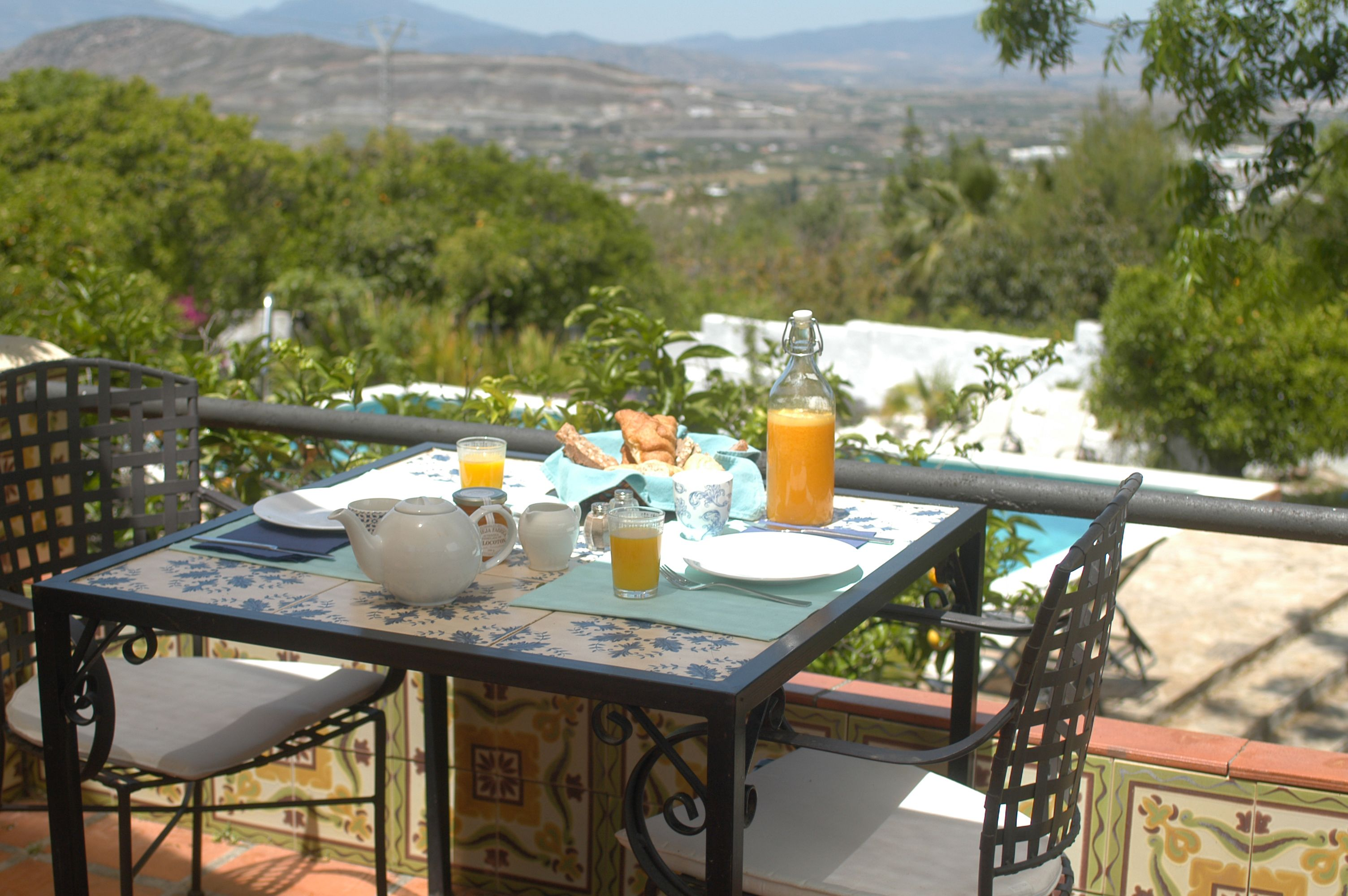 Breakfast @Anita Casalis de Orange