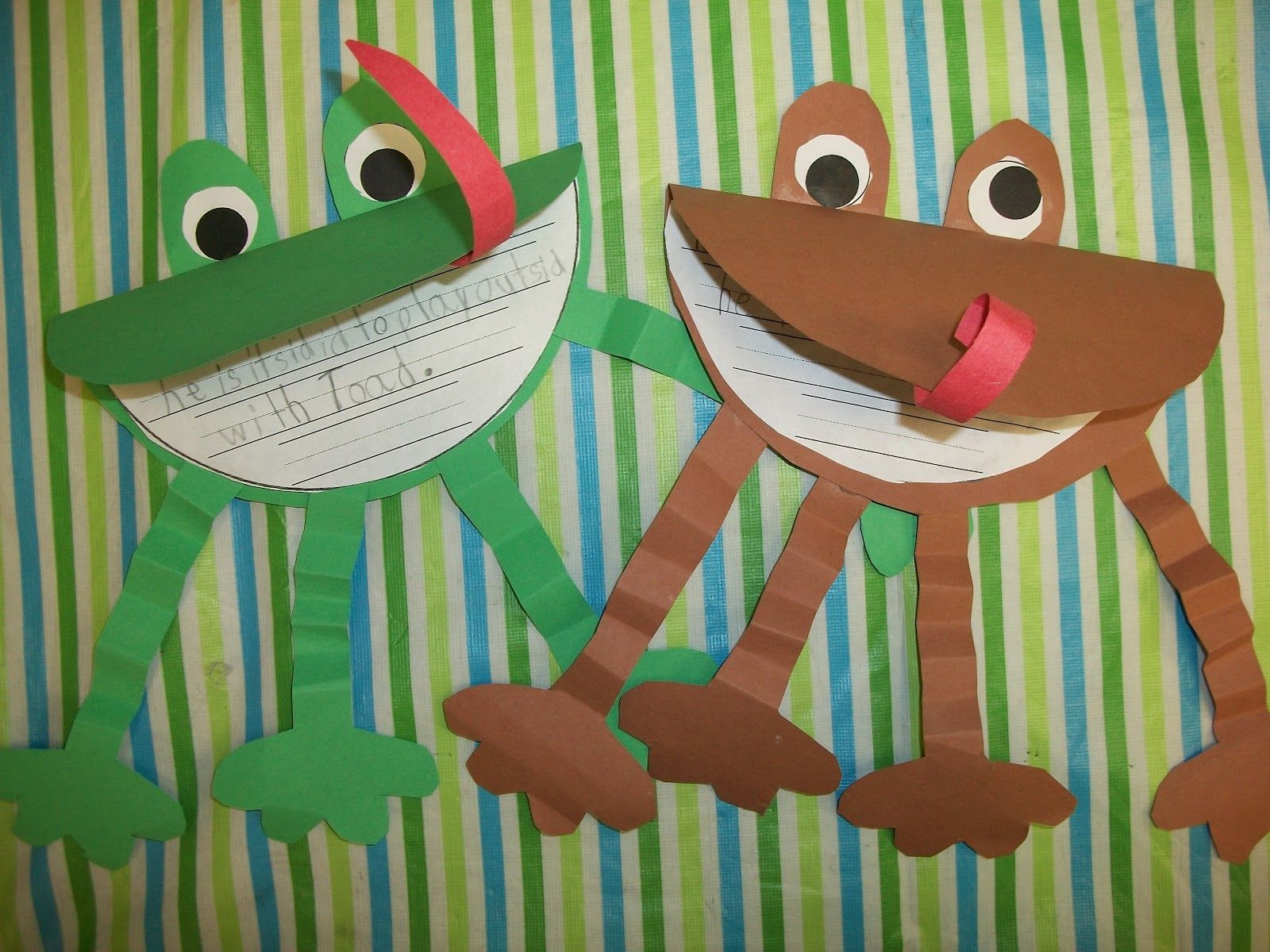 Frog And Toad Activities Pinterest