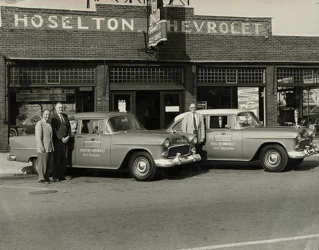Old Hoselton Chevrolet Building In East Rochester Ny Chevy