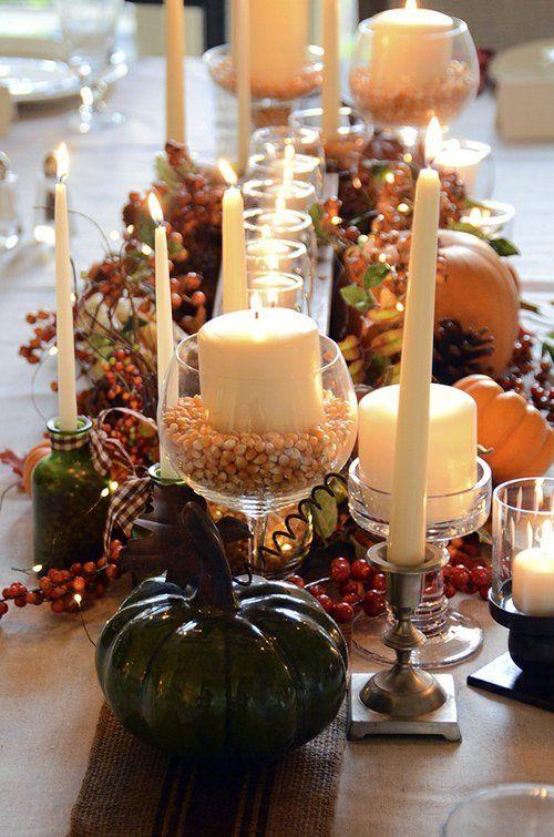 30 coole ideen f r tischdeko im herbst dekoration - Coole tischdeko ...