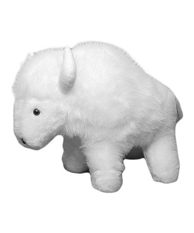 Take A Look At This Great White Buffalo Plush Sewing Kit By Haan