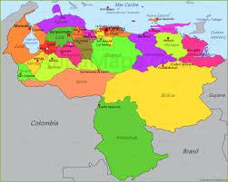 Mapa De Venezuela Buscar Con Google Map Venezuela World Map