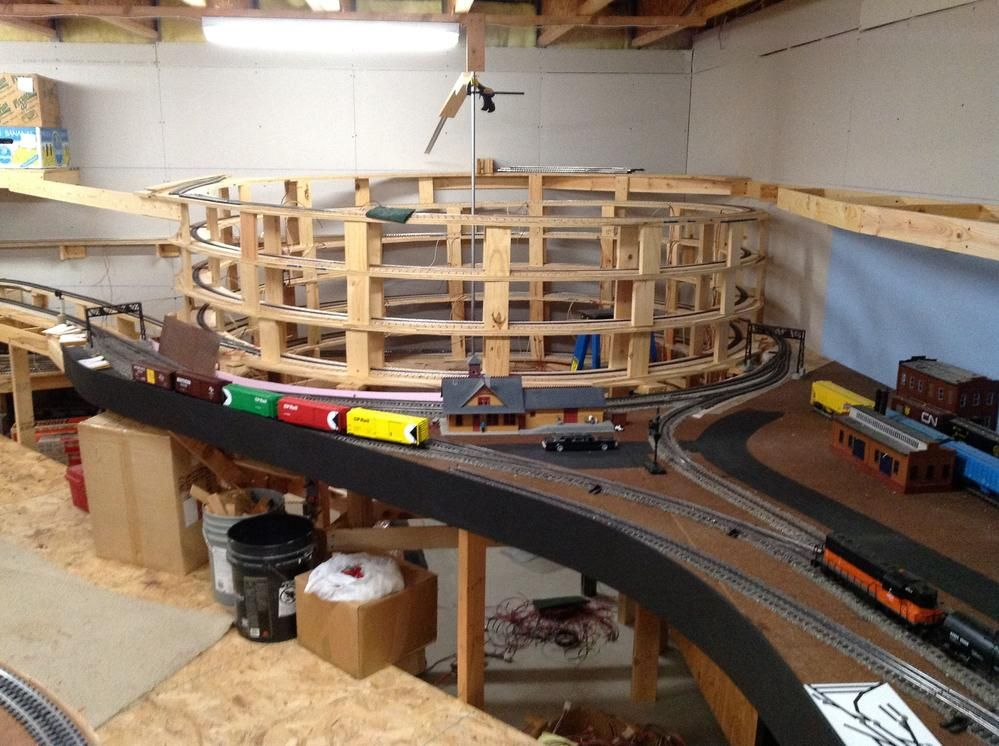 Lionel train table plans Mar 2 2012 Building a layout is a ...