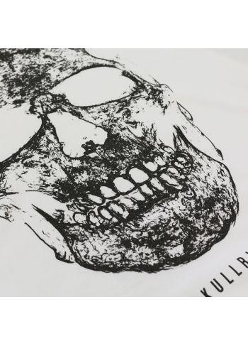 Skull BlackLight - White