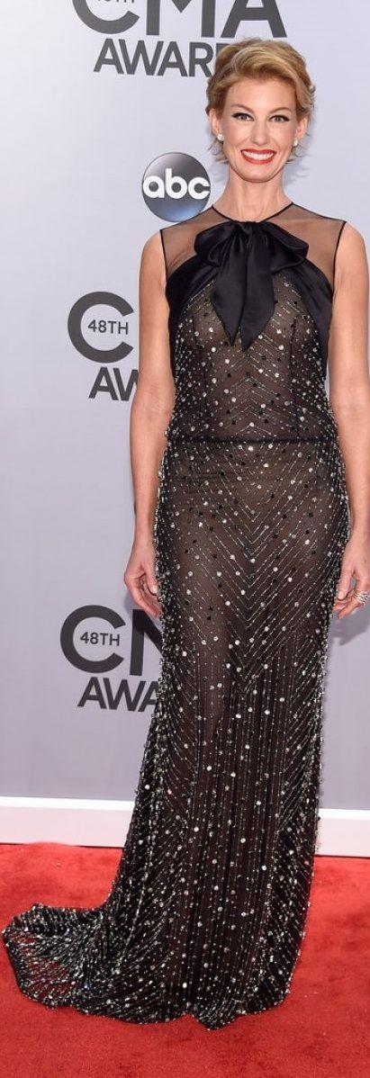 Faith Hill In Naeem Khan – 2014 CMA Awards