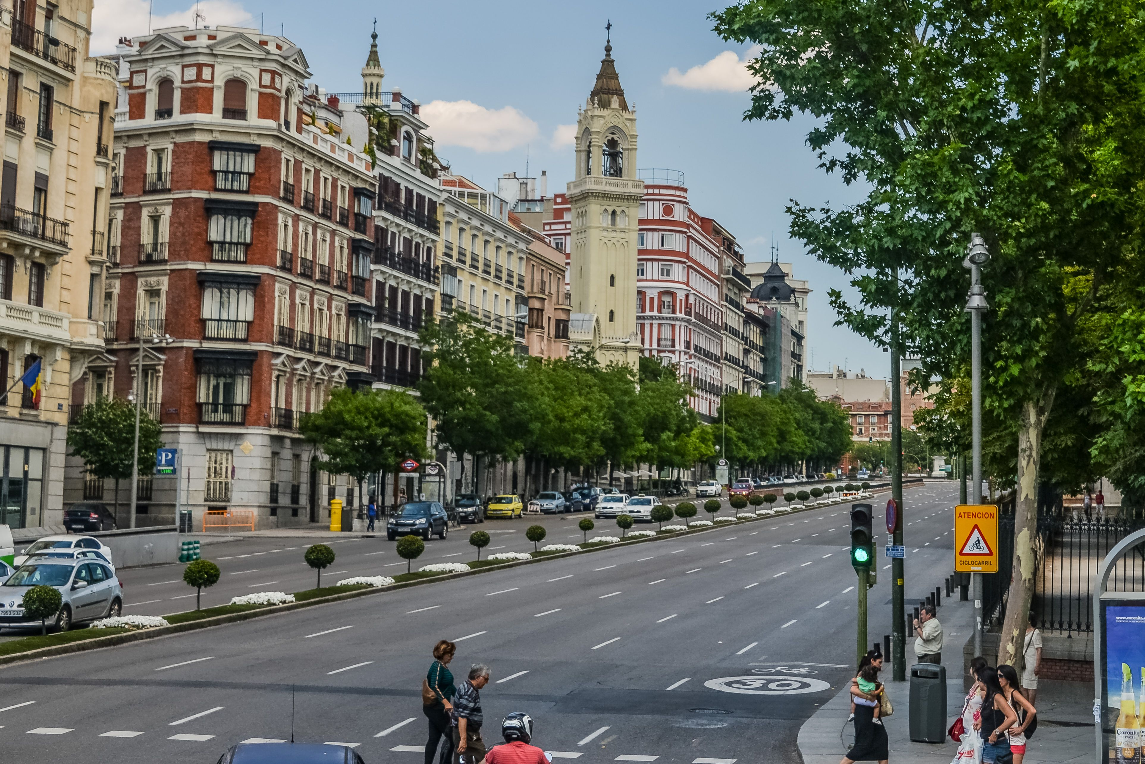 Plaza De La Independencia Madrid Espana Spain Follow Craig