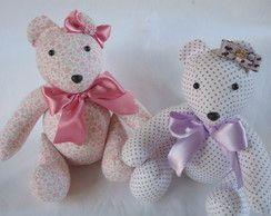 Ursos de tecido Guina M