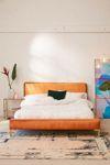 Rosalie Velvet Platform Bed | Urban Outfitters