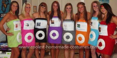 coolest ipod group costume karneval kost m fasching. Black Bedroom Furniture Sets. Home Design Ideas