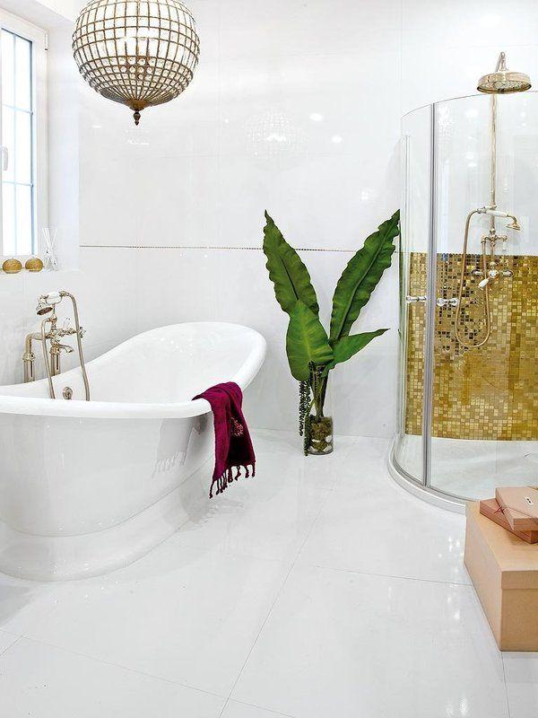 Un baño femenino y sofisticado | bathroom | Baño femenino ...