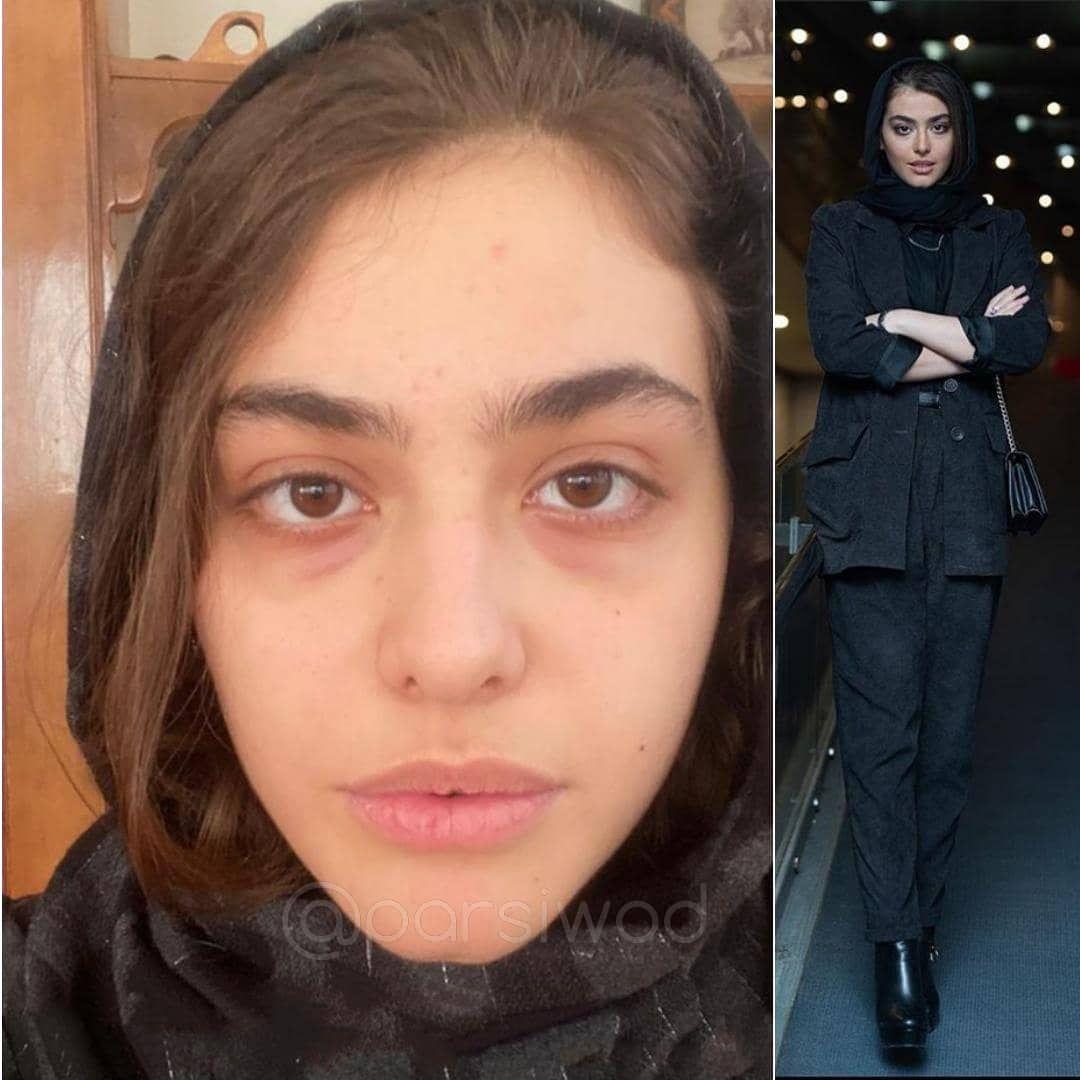 ریحانه پارسا در چالش بدون آرایش خودت باش Iranian Beauty Persian Girls Beauty